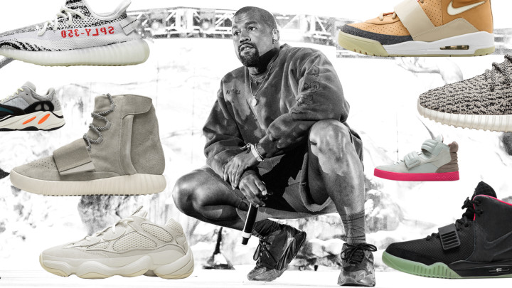 Kanye West Sneakers Ranked