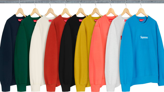a044314faac2 Best Style Releases This Week  Supreme Box Logo Crewnecks