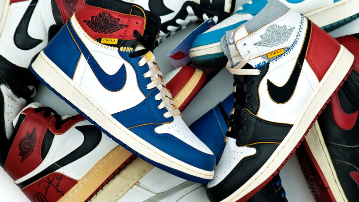 Union x Air Jordan 1 Comparison (Group)