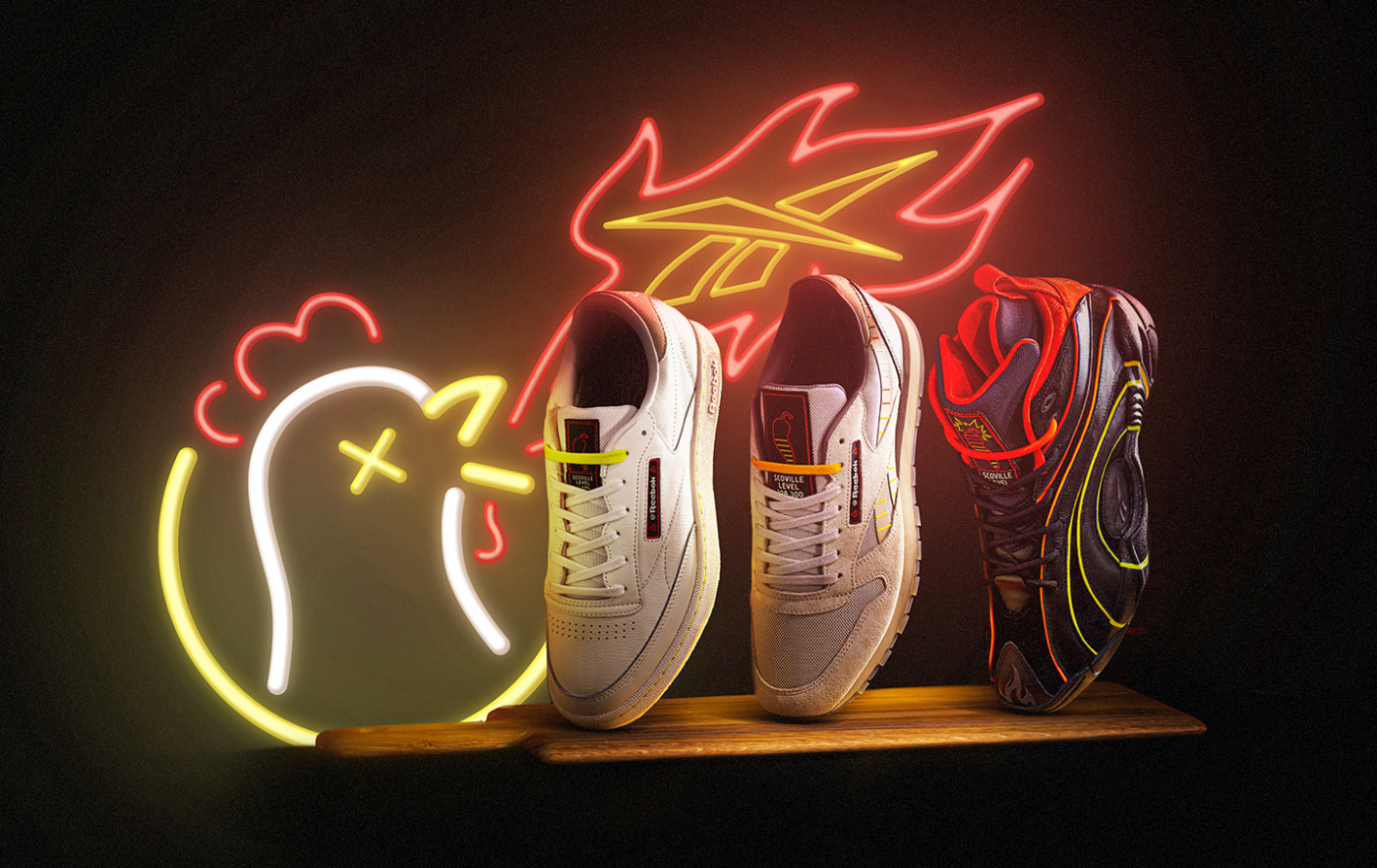 Hot Ones x Reebok Collection