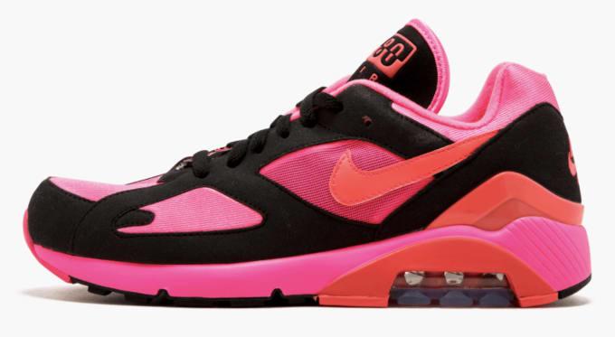 9c6cd7bb531e Comme des Garçons x Nike Air Max 180 (Black)