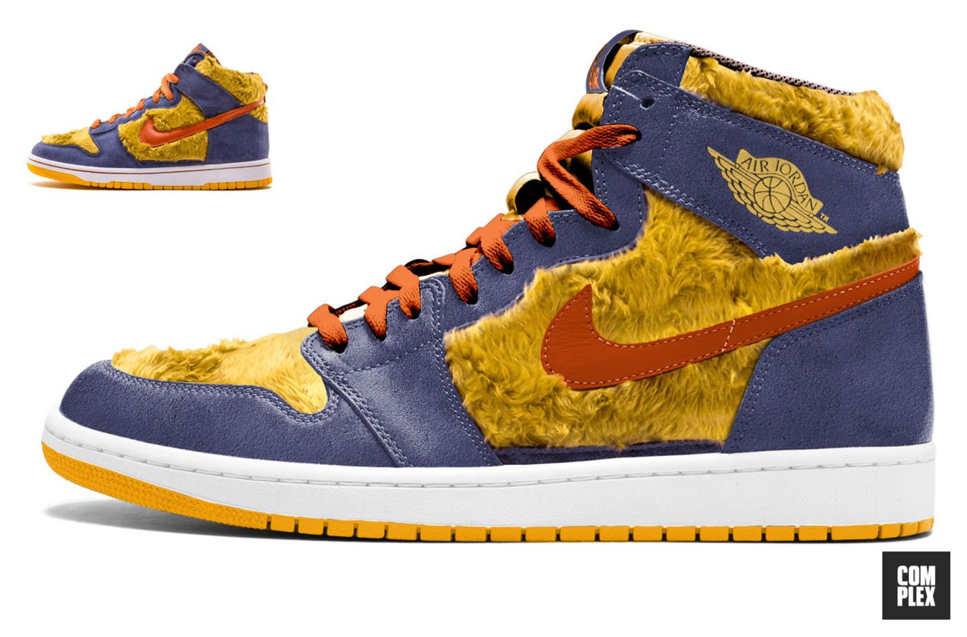 Pino alquiler Elaborar  What Nike SB x Air Jordan 1 Sneaker Collabs Could Look Like | Complex