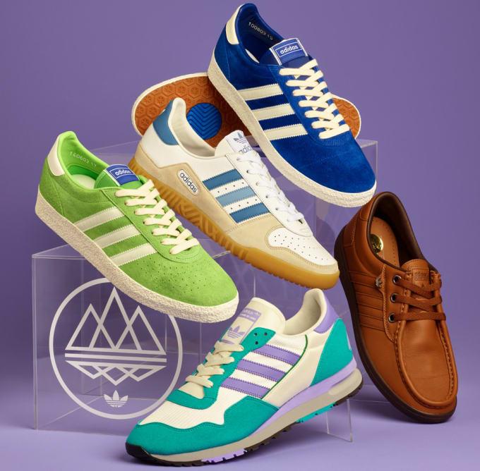 65a9cb3eff4720 Adidas Spezial  Acid Winter  Collection