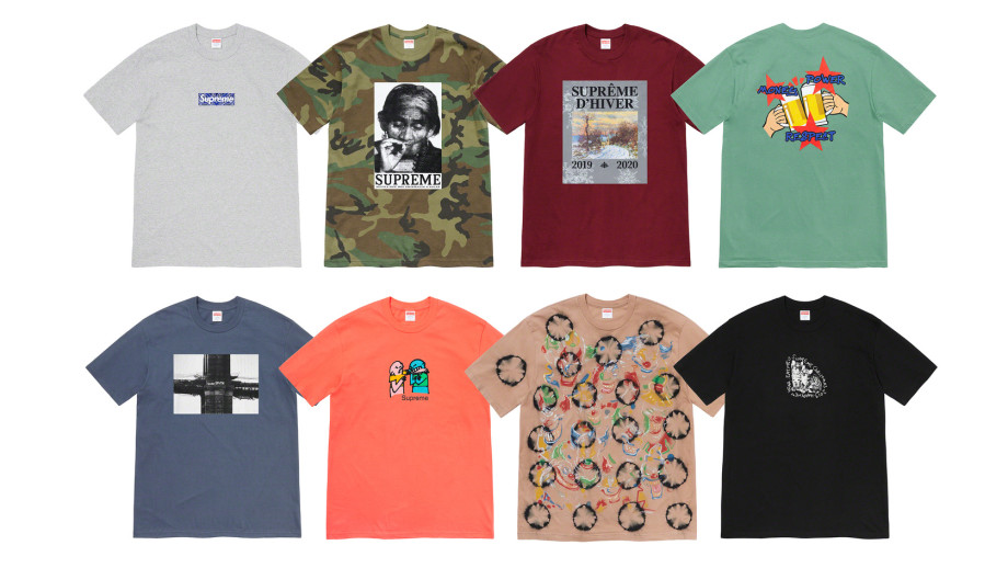 Supreme Winter 2019 T-shirts 2