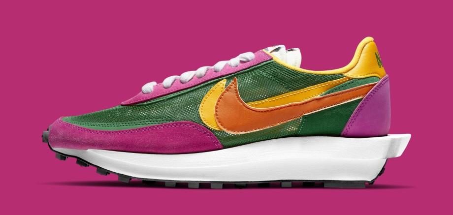Sacai x Nike LDWaffle BV0073-301 (Lateral)