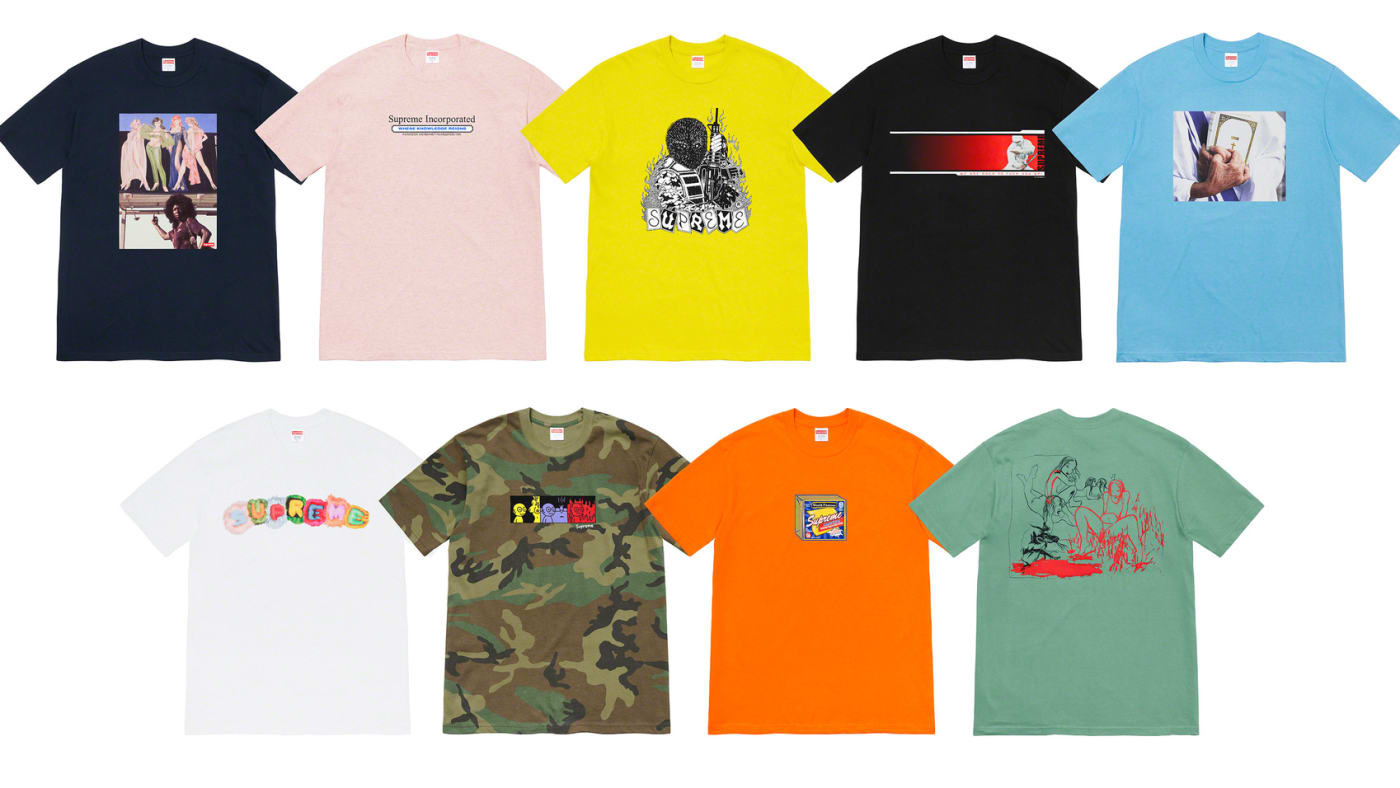 Supreme FW2019 Collection