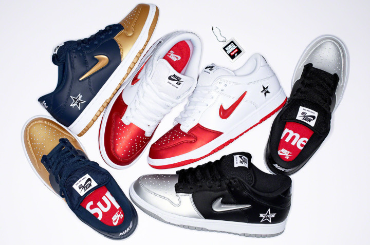 Supreme x Nike SB Dunk Low Collection