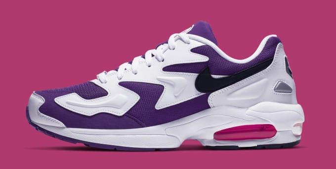 2959c11ef1cd Nike Air Max2 Light  White Court Purple-Hyper Pink  AO1741-103