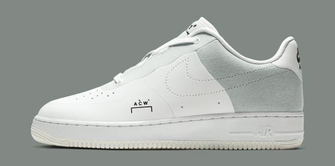 detailed look 8db68 09784 A-Cold-Wall  x Nike Air Force 1 Low  White Light