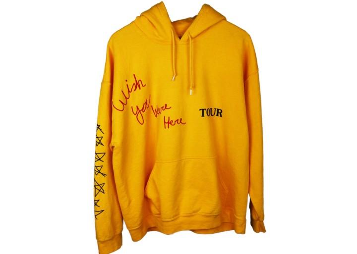 Travis Scott Yellow Tour Hoodie