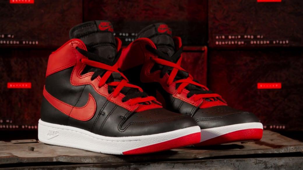 Banned Nike Air Ship Retro Black Red