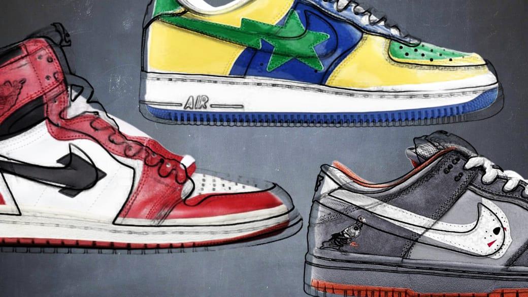 bootleg sneakers