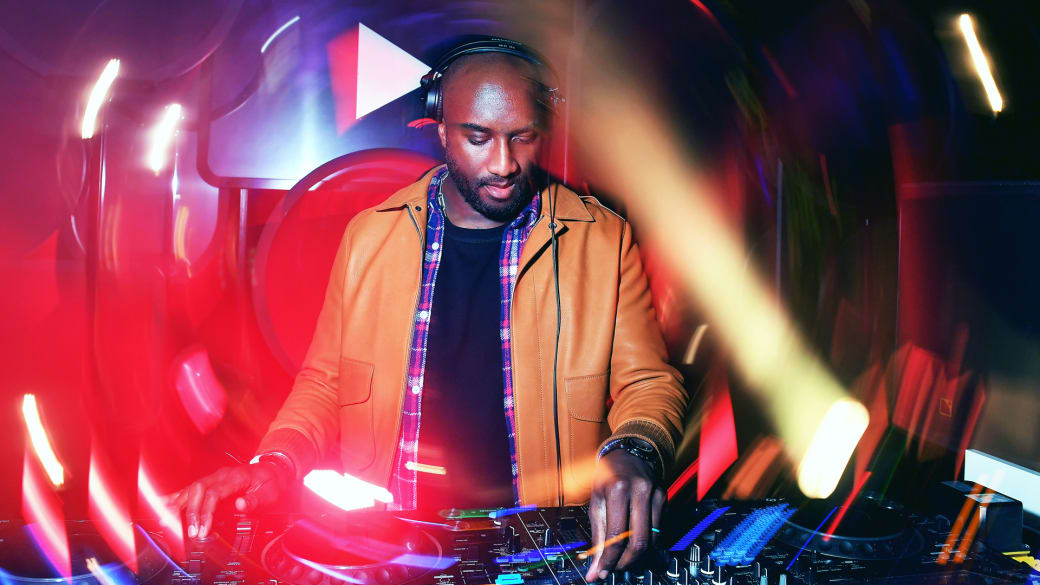 Virgil Abloh's history in music