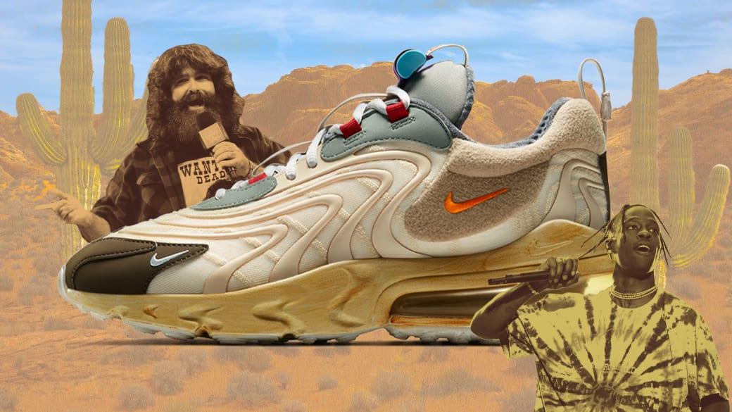Mick Foley Travis Scott Cactus Trails Nike Air Max