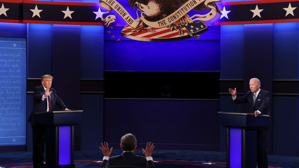 Trump and Biden First Presidential Debate