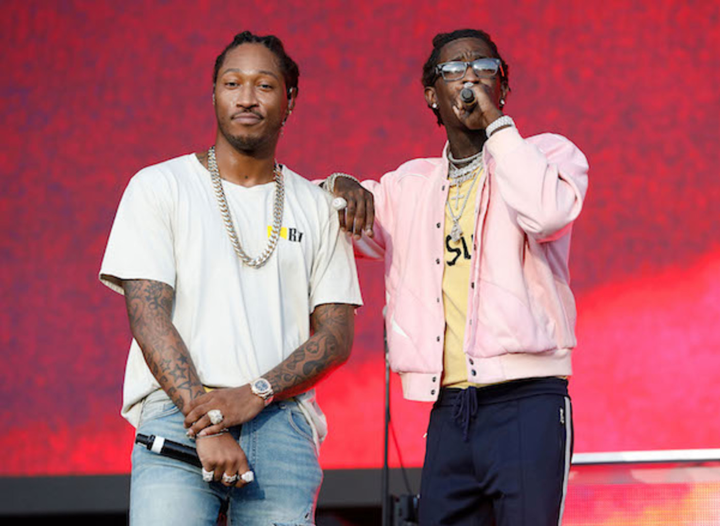 Young Thug and Future in New York City