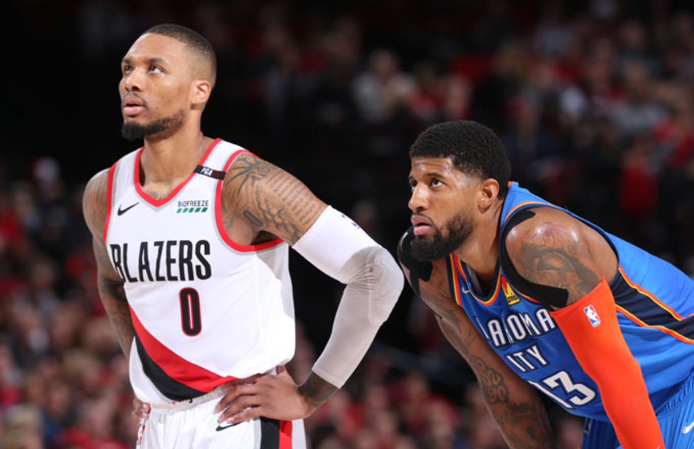 Damian Lillard On Paul George S Bad Shot Comments If Anything It Was Bad Defense Complex
