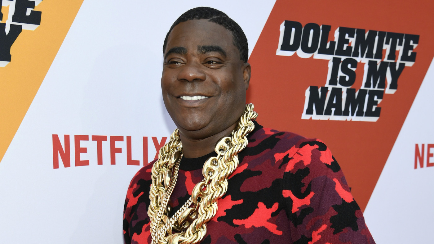 """Tracy Morgan attends the LA premiere of Netflix's """"Dolemite Is My Name"""""""