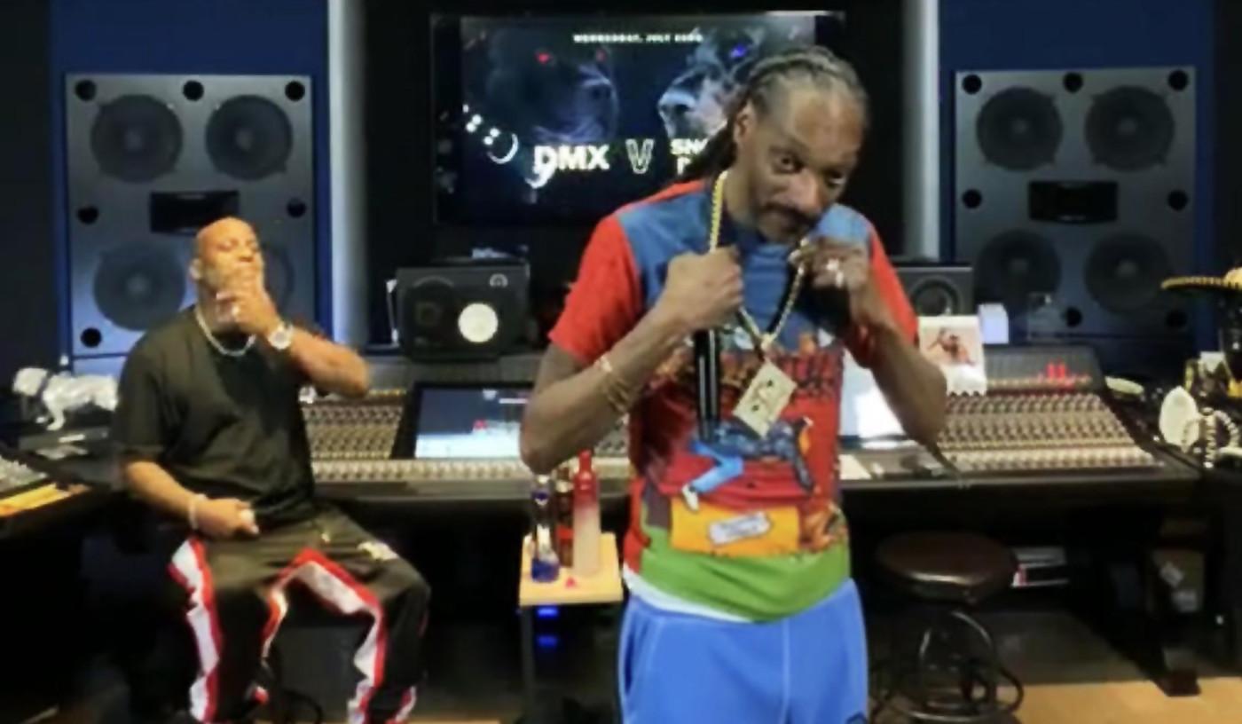 DMX and Snoop Dogg Verzuz