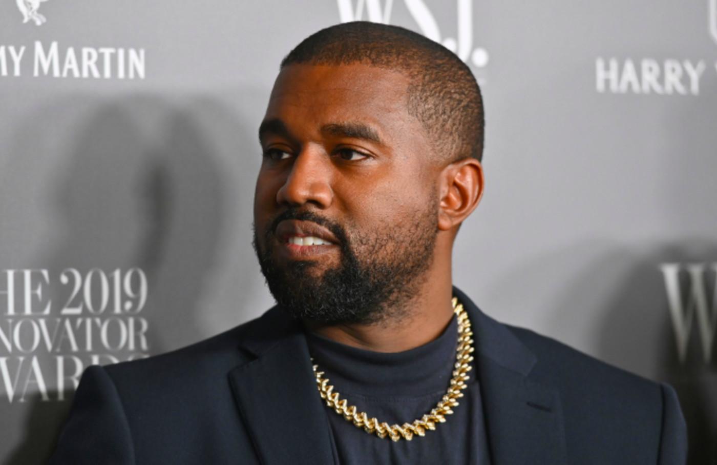 US rapper Kanye West attends the WSJ Magazine 2019 Innovator Awards