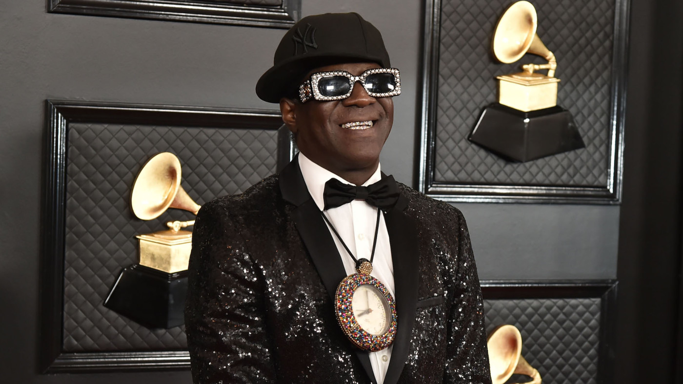 Flavor Flav attends the 62nd Annual Grammy Awards