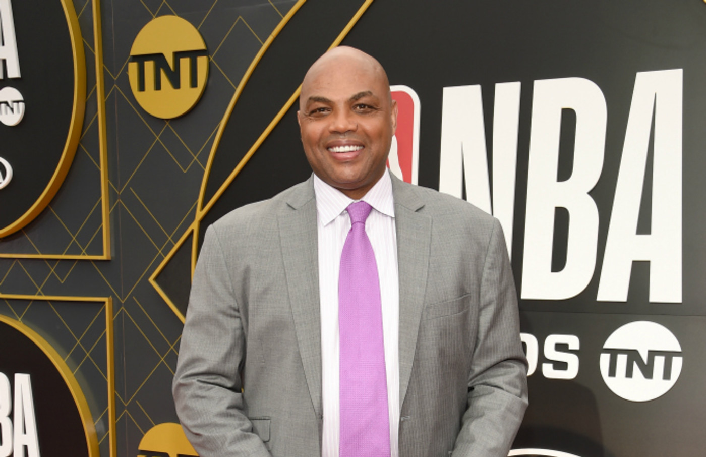Charles Barkley attends the 2019 NBA Awards