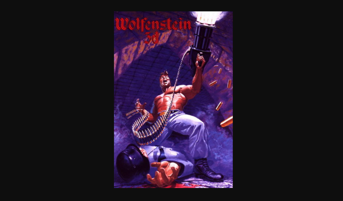 first-person-shooter-game-wolfenstein-3d