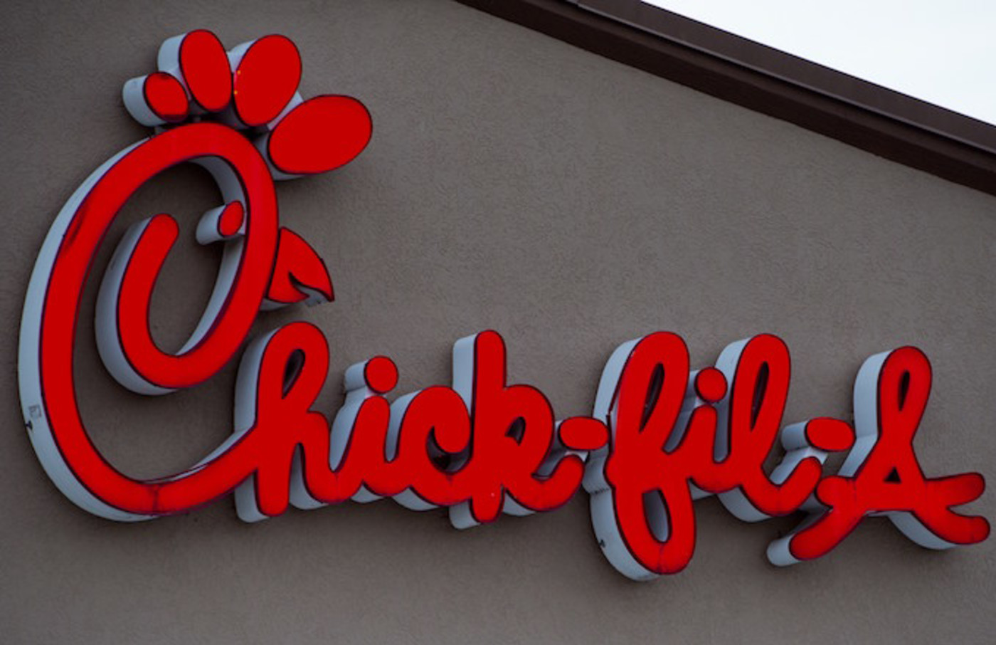 Chick-fil-A restaurant is seen in Chantilly, Virginia.