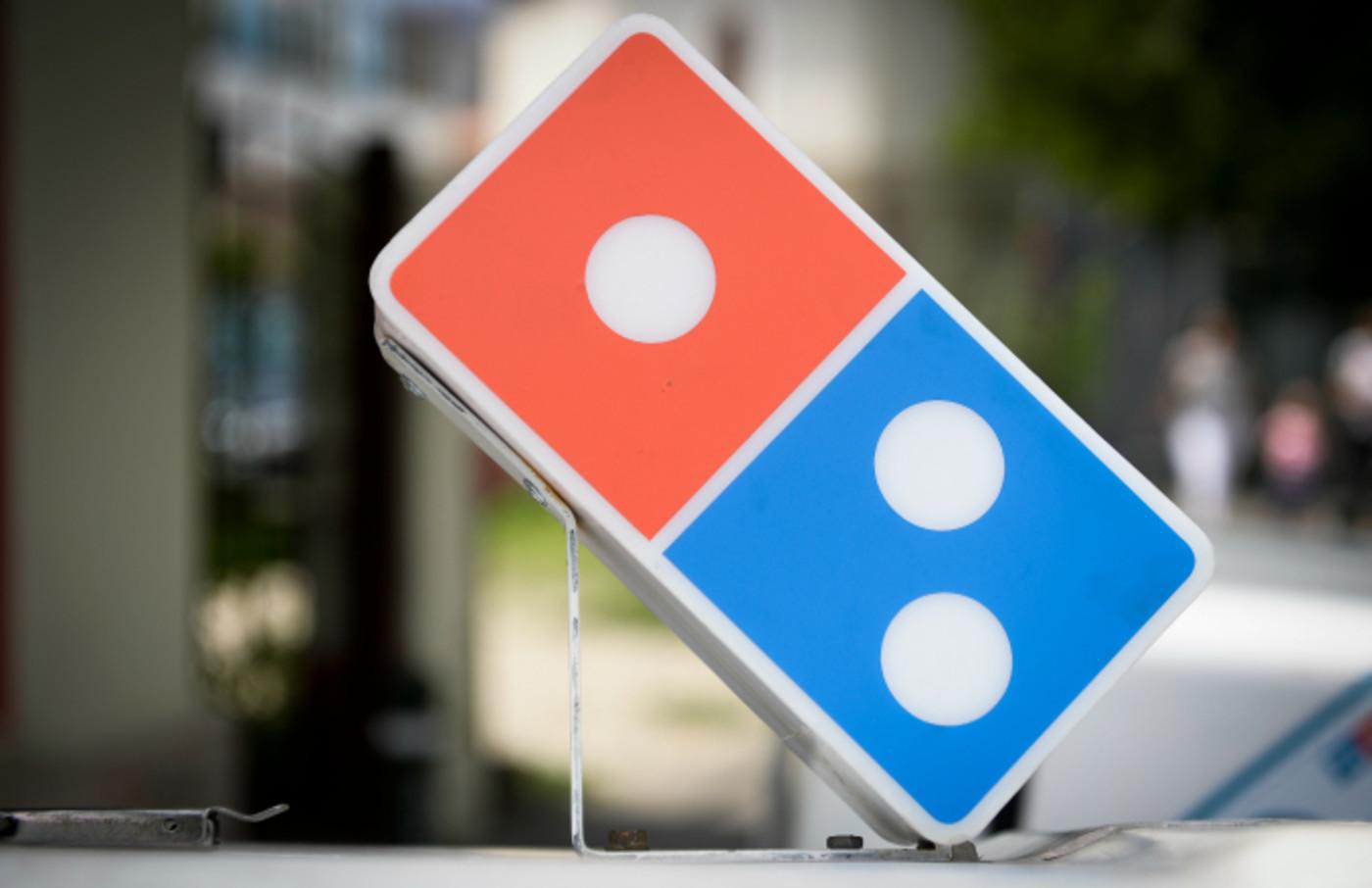 The Dominos Pizza logo
