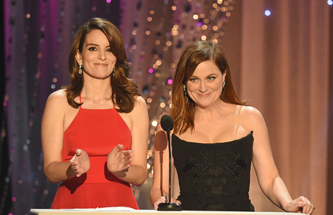 Tiny Fey and AMy Poehler