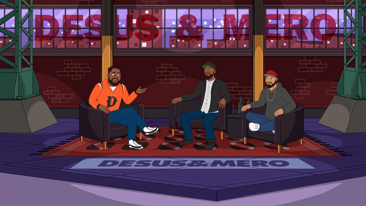 Desus & Mero Animated 'black-ish' Cameo: First Look | Complex