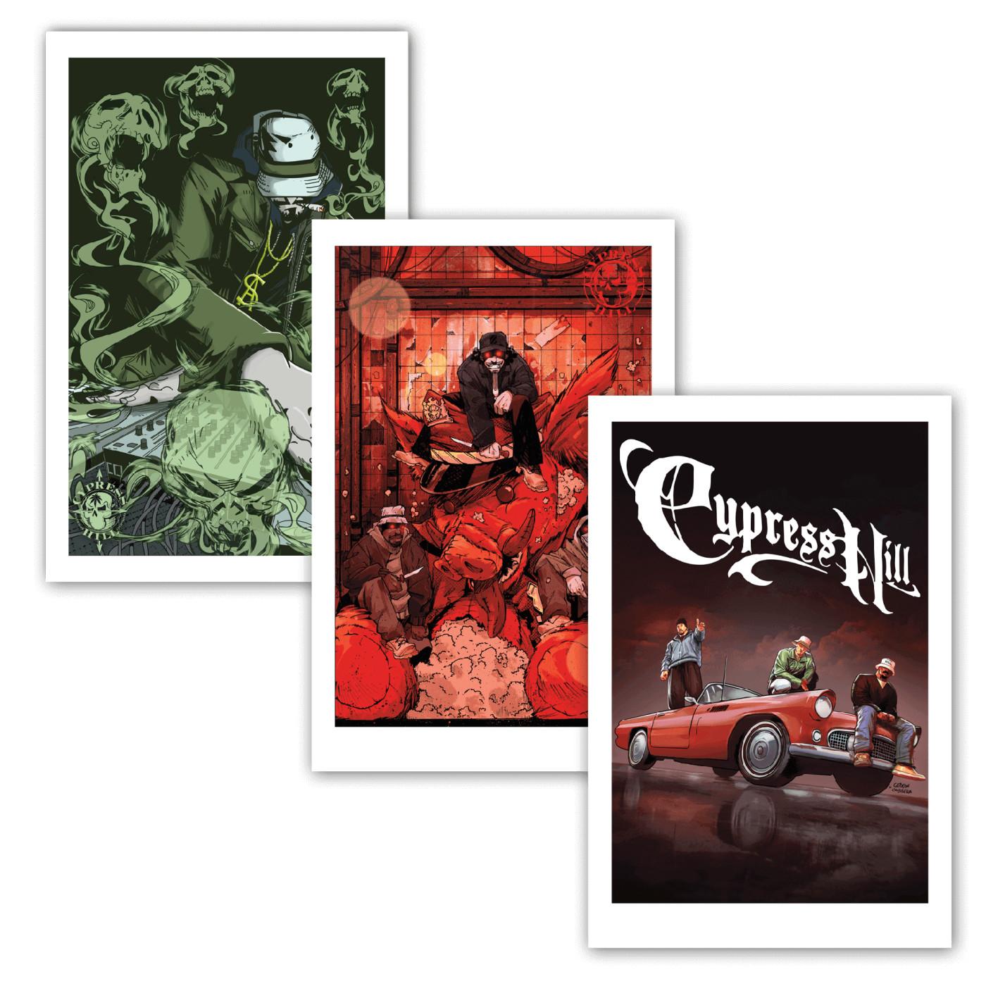 Cypress Hill: Tres Equis Print Set