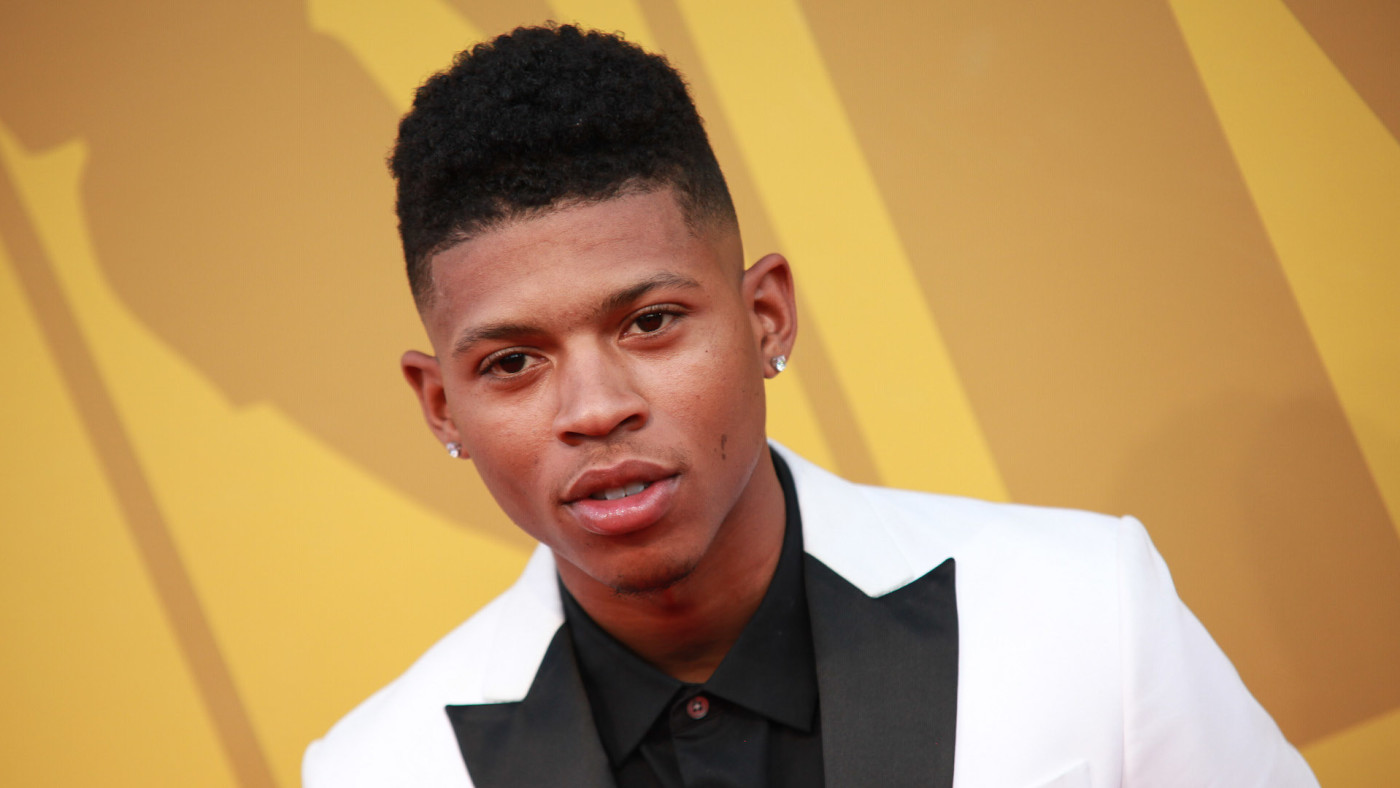 Bryshere Y. Gray attends the 2017 NBA Awards.