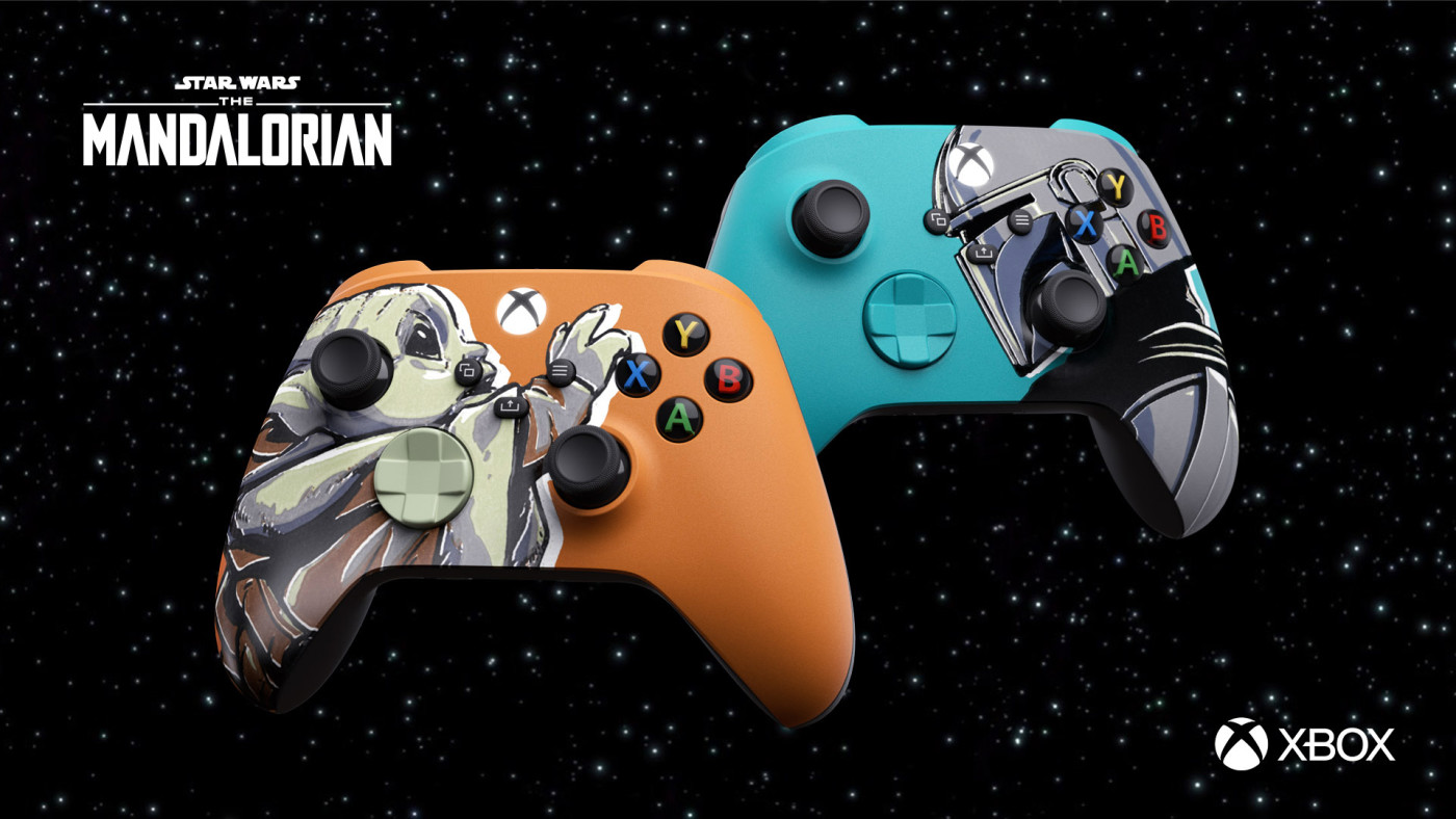 Xbox x 'The Mandalorian' Xbox Controllers collaboration