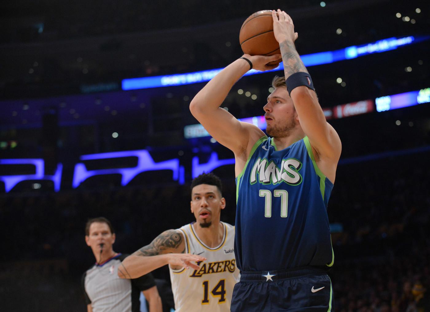 Luka Doncic Lakers Mavericks 1 LA Dec 2019
