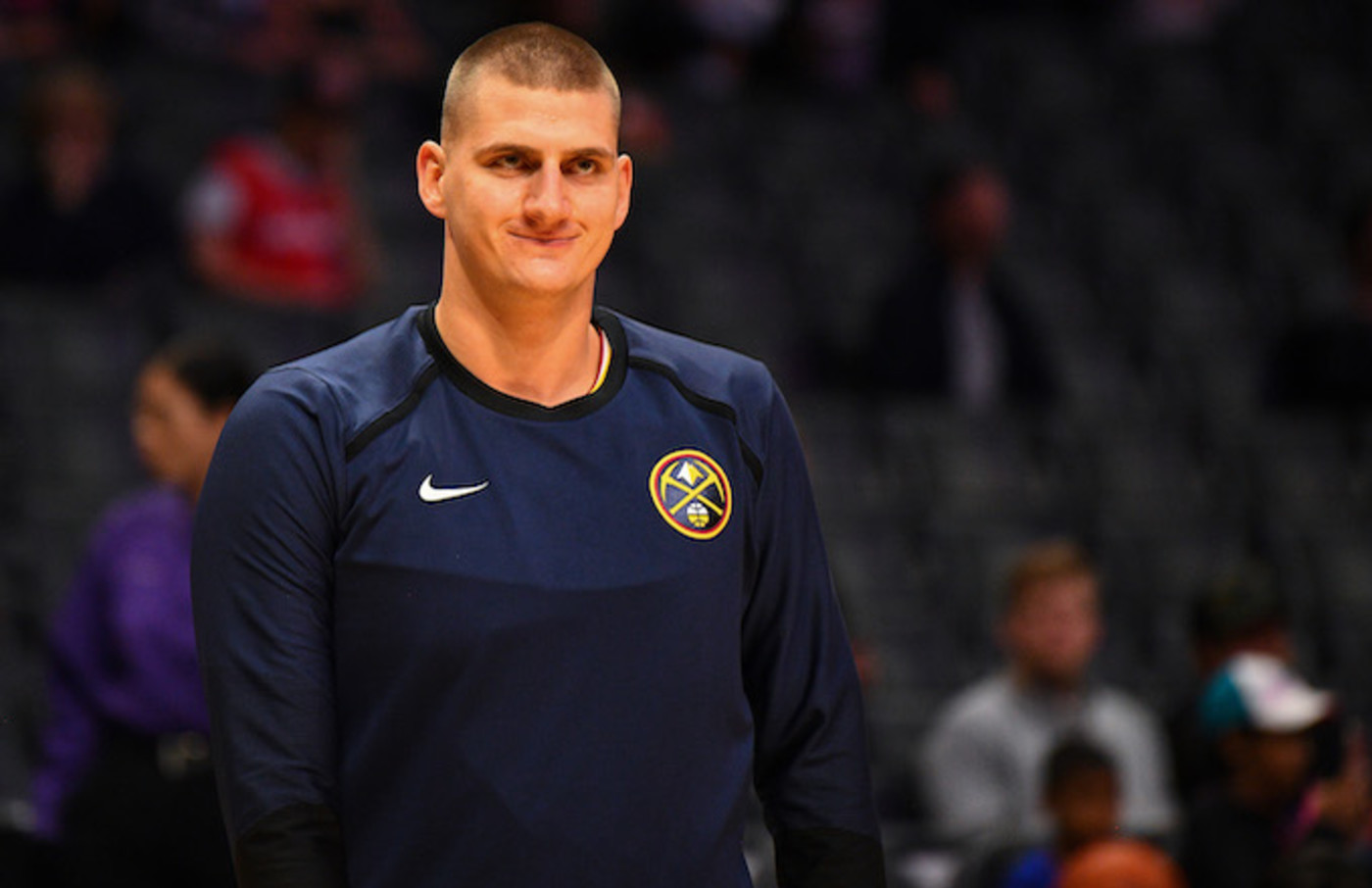 Denver Nuggets Center Nikola Jokic.