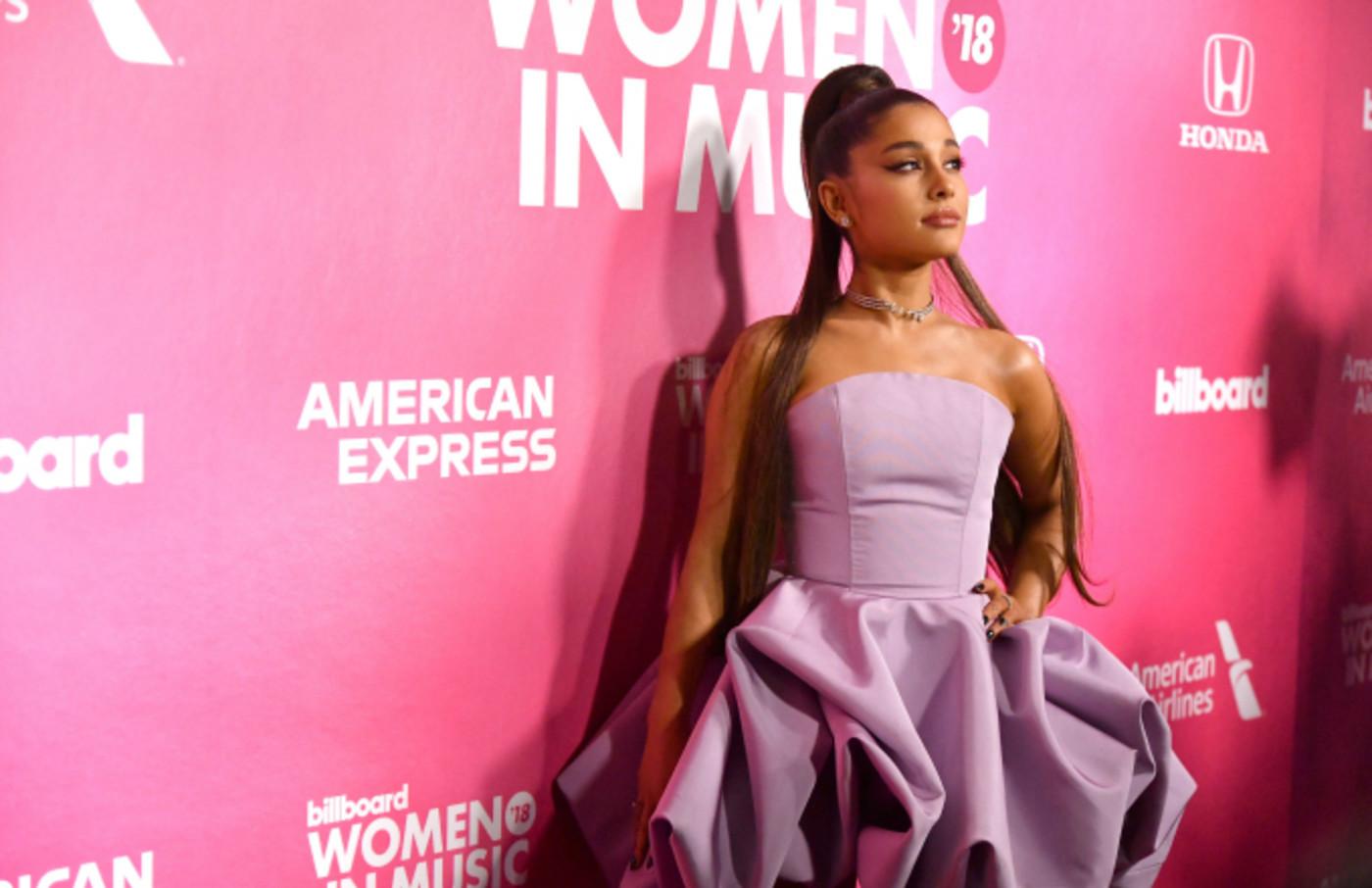 Singer Ariana Grande attends the Billboard Women In Music