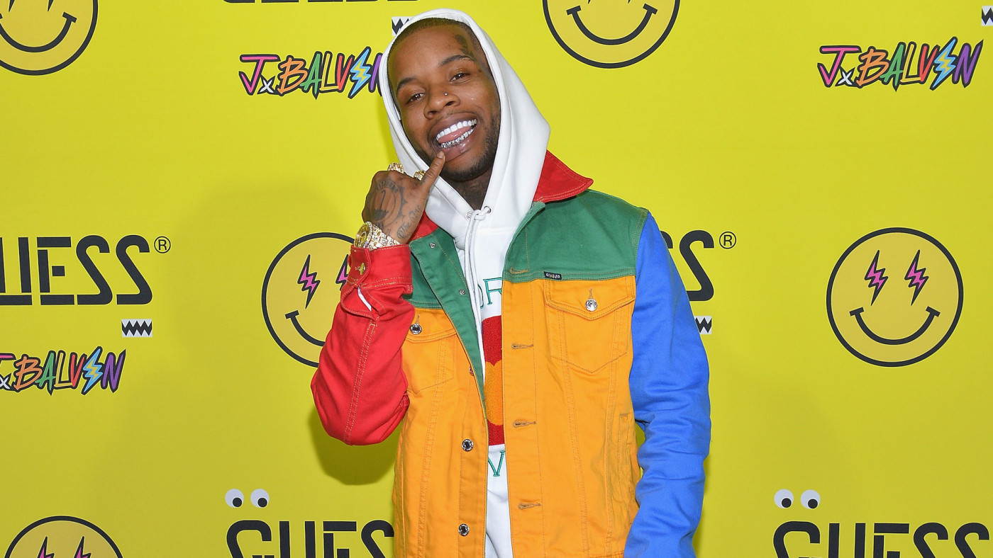 Tory Lanez attends GUESS x J Balvin launch party