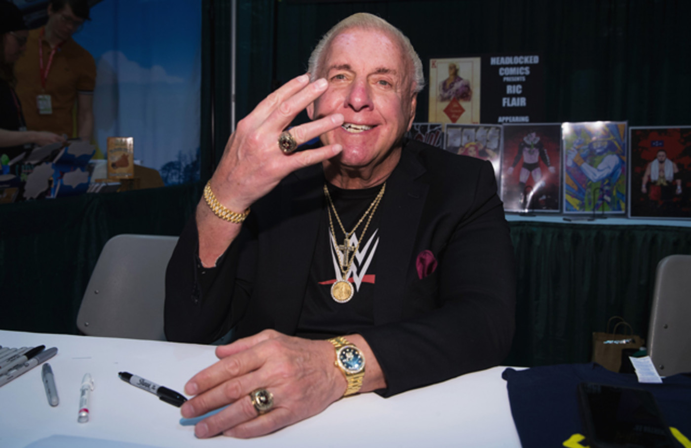 Ric Flair at Emerald City Comic Con