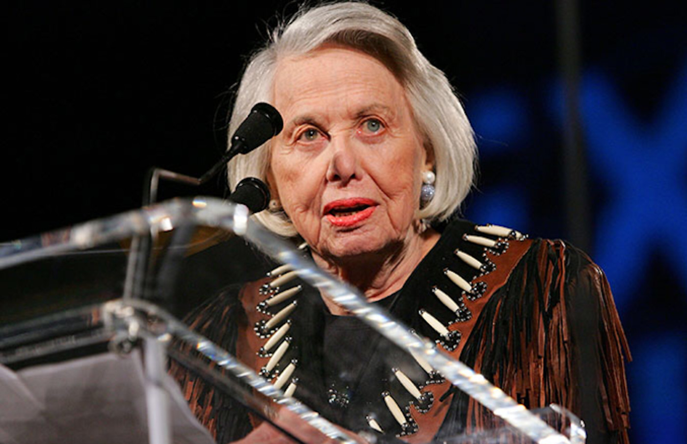 Liz Smith attends Texas Film Hall of Fame Awards.