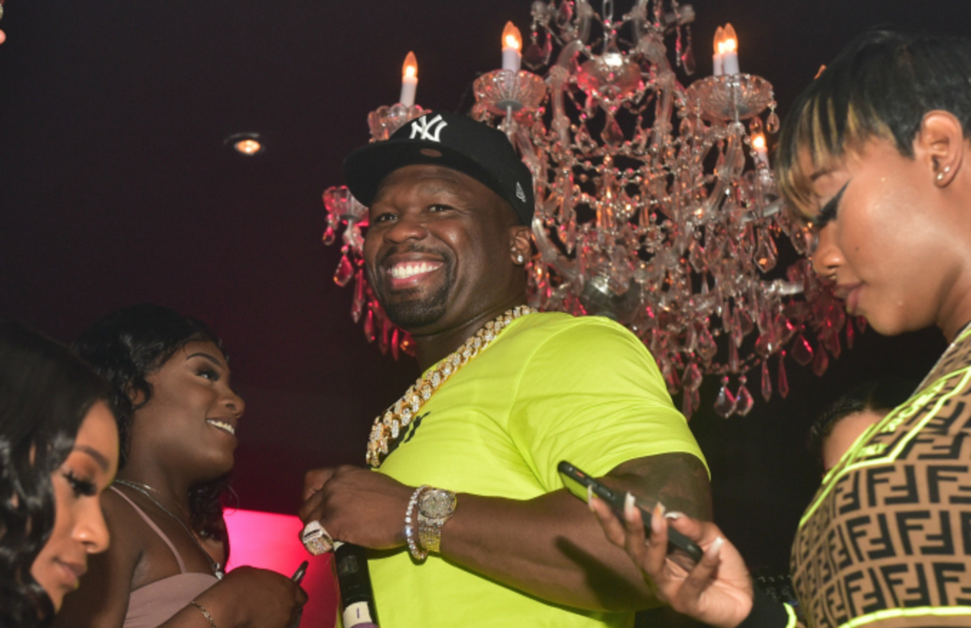 50 Cent attends Compound 15 Year Anniversary Celebration at Compound