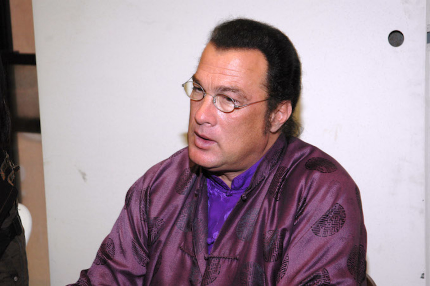 This is a picture of Steven Seagal.