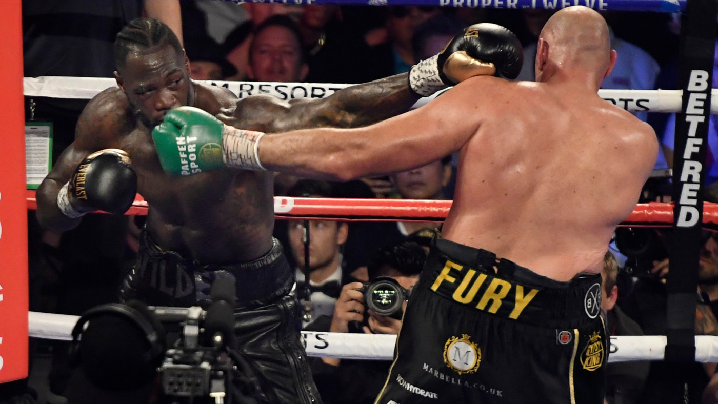 This is a photo of Deontay Wilder.