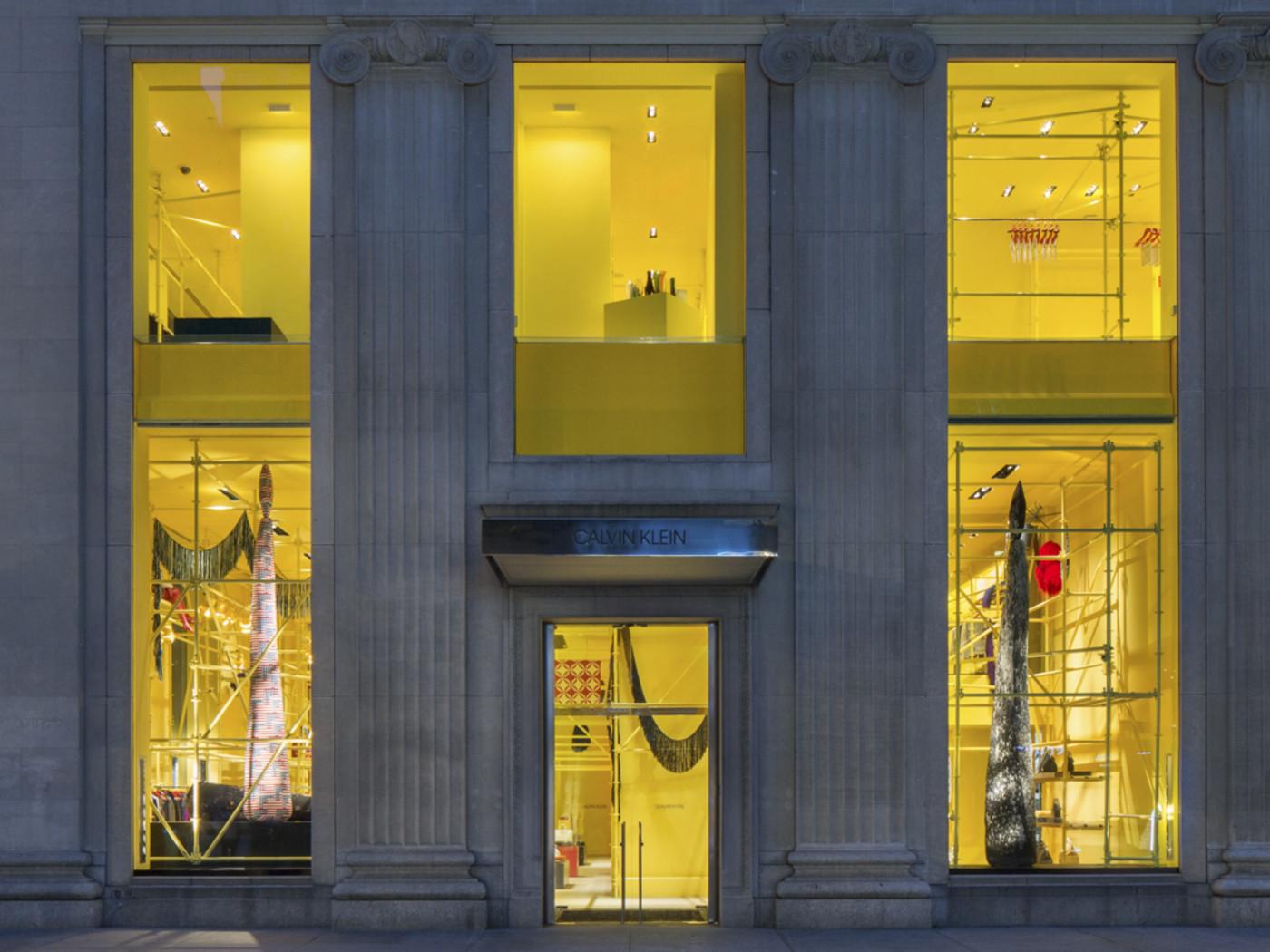 Calvin Klein Madison Avenue Exterior