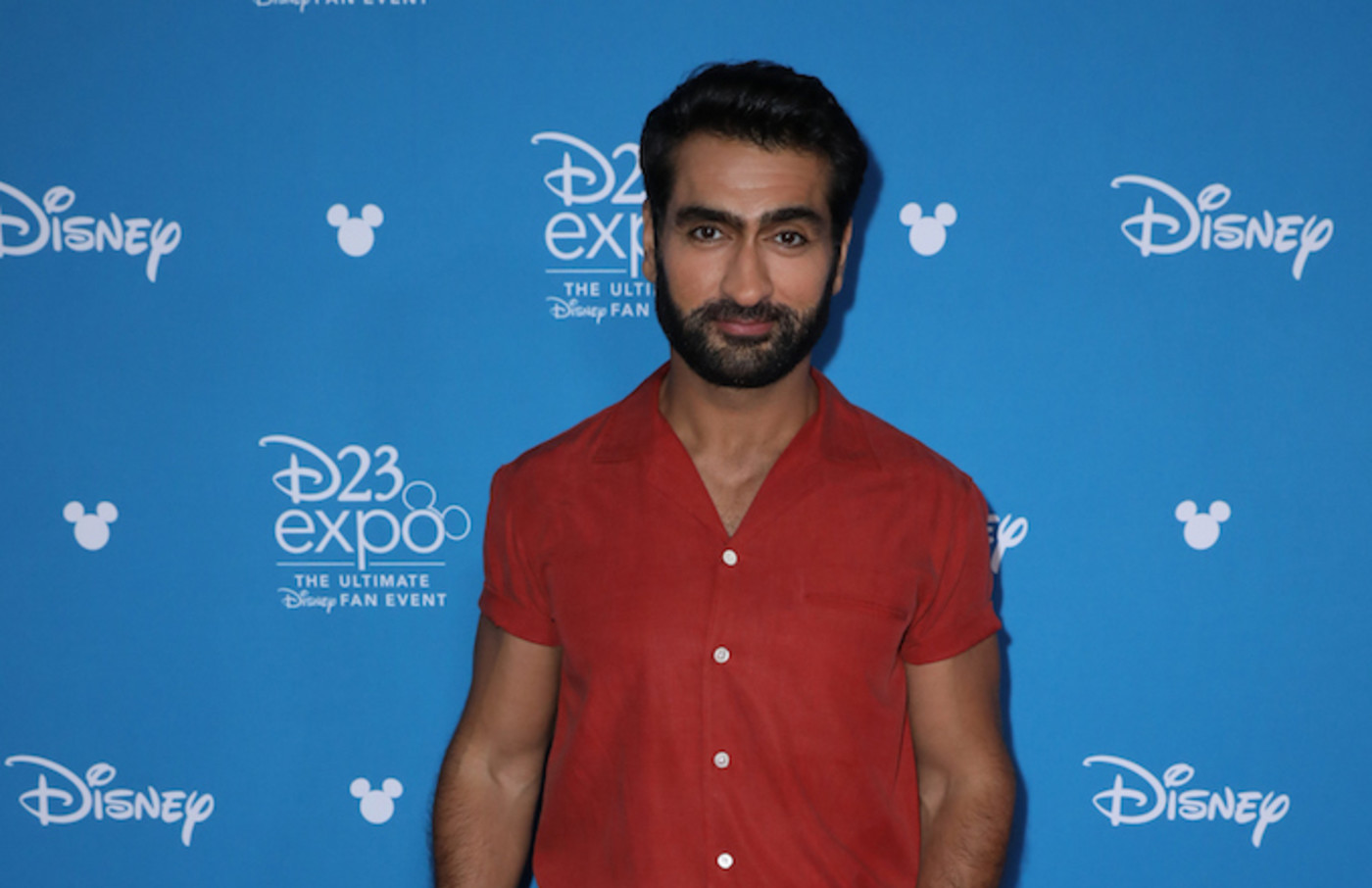 Kumail Nanjiani at D23 Expo 2019.