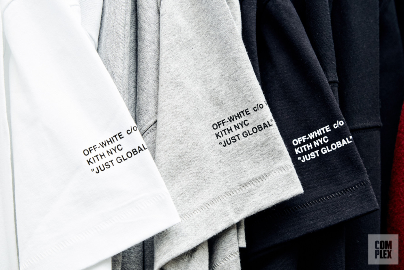 Kith's upcoming Off-White collaboration.