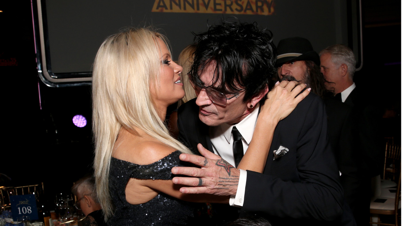 Tommy Lee and Pamela Anderson Lee