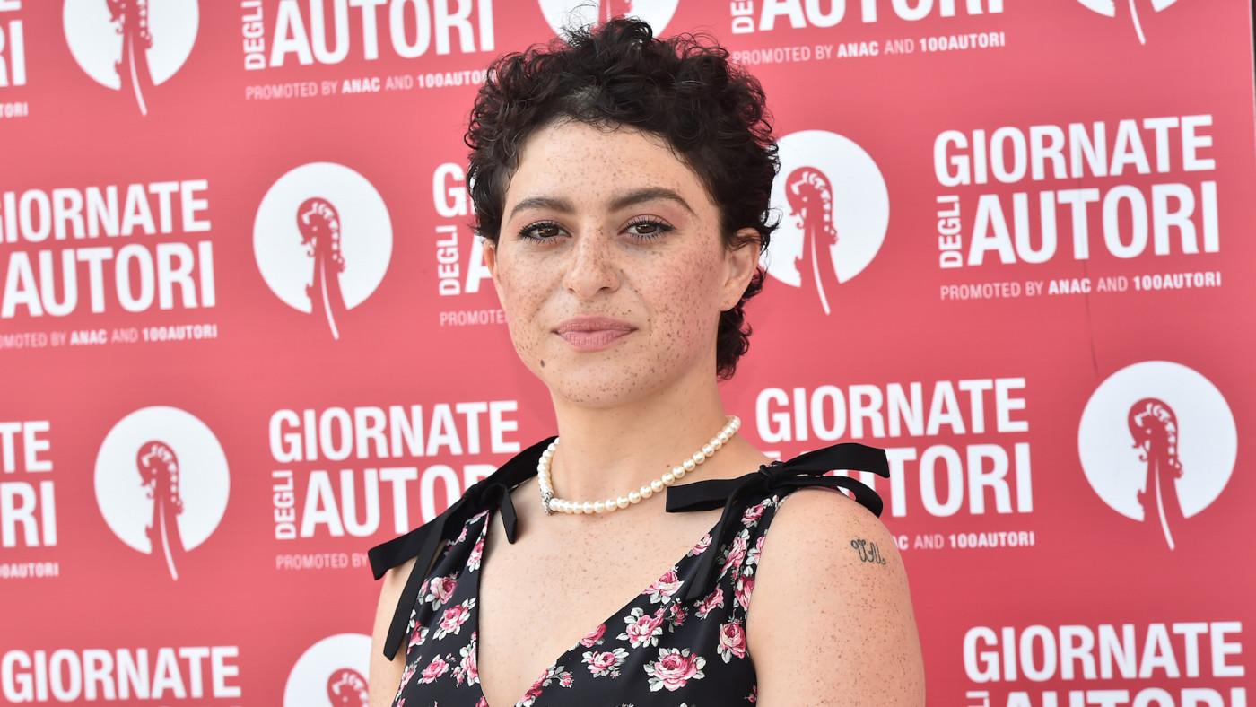 Alia Shawkat attends the MiuMiu photocall