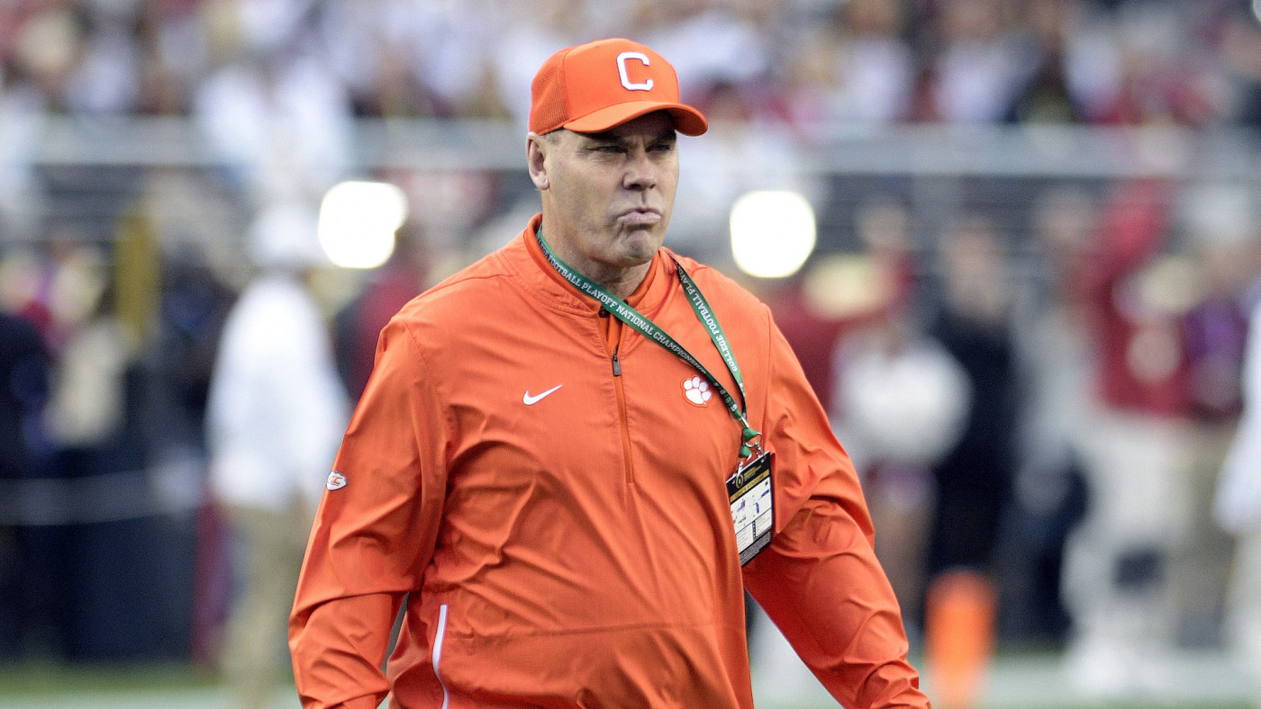 Clemson Tigers Assistant Head Coach, Special Teams Coordinator, Tight Ends Danny Pearman