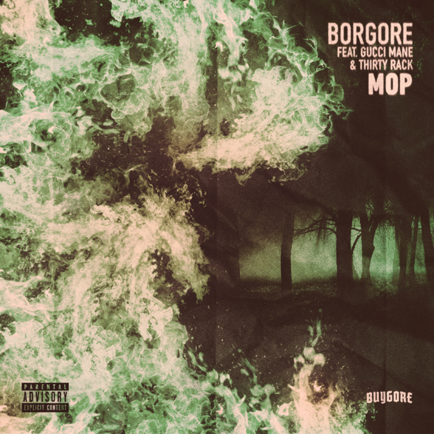 """Borgore ft. Gucci Mane and THIRTY RACK """"MOP"""""""
